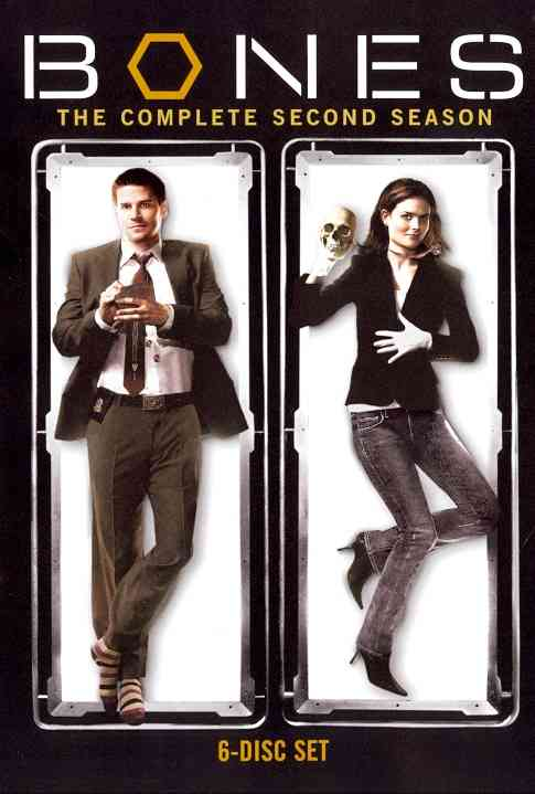 BONES SEASON 2 BY BONES (DVD)